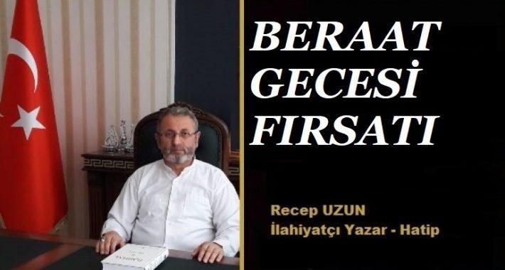 BERAAT GECESİ FIRSATI